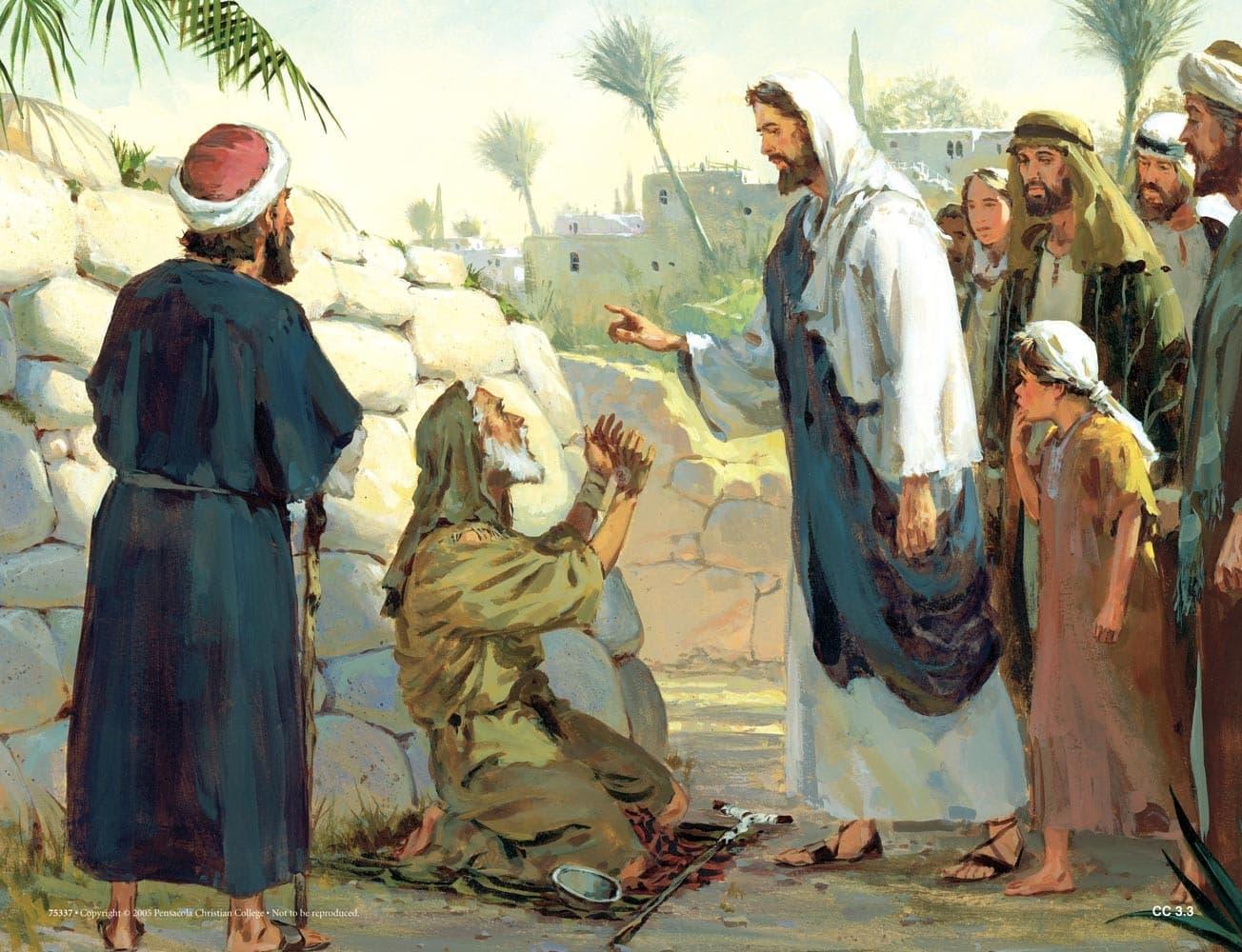 God's Mercy on Beggars