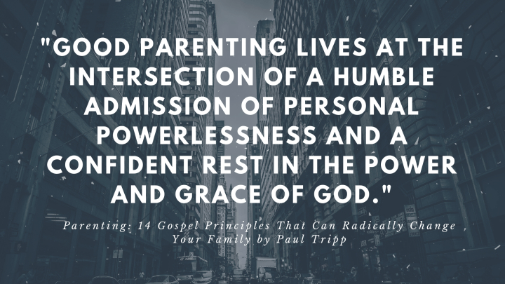 Parenting While Trusting in God's Sovereign Plan