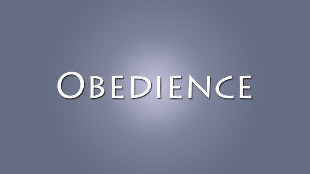 The Word Is Ultimately Intended to be Obeyed
